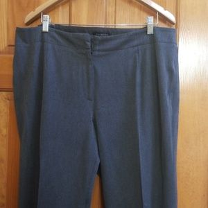 Talbots stretch gray business casual pants